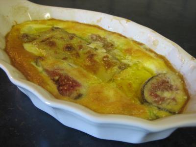 Recette Flans de foie gras aux panais et aux figues