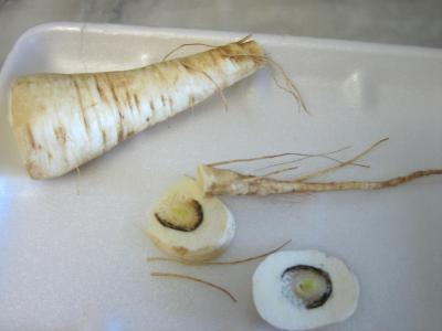 Flans de foie gras aux panais et aux figues - 1.1
