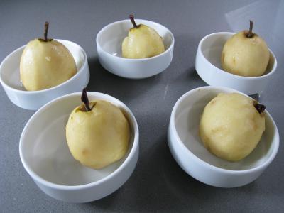 Poires au cidre et sa crème fouettée - 3.2