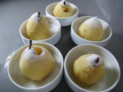 Poires au cidre et sa crème fouettée - 4.2