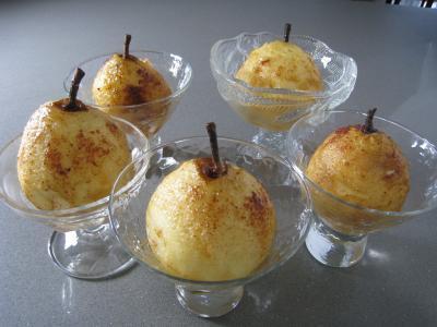 Poires au cidre et sa crème fouettée - 6.2