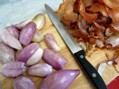Saint-Jacques à la confiture d'échalotes et au foie gras - 3.1
