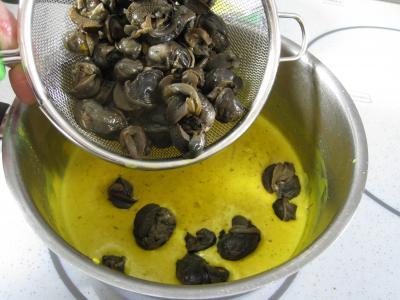 Feuilleté d'escargots aux épices - 11.3
