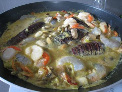 Soupe de crustacés et de lotte - 10.3