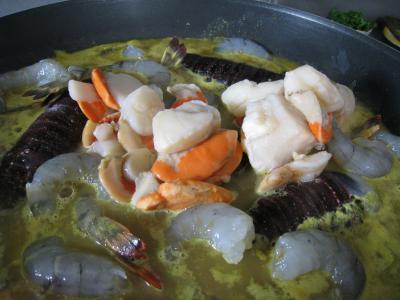 Soupe de crustacés et de lotte - 10.1
