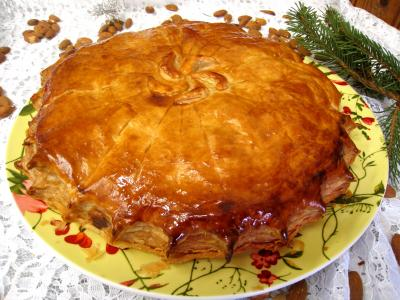 Image : Pithiviers aux pommes