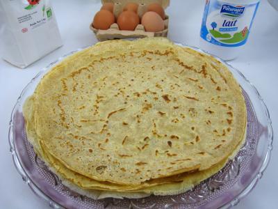 Pâte à crêpes - Supertoinette, la cuisine facile !