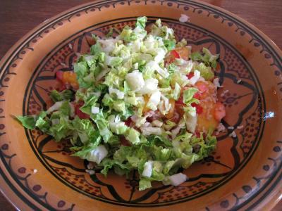 Salade de thon aux pêches - 7.2