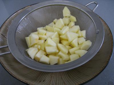 Aiguillettes de canard gras au coulis de pommes - 3.3