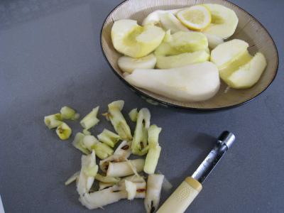 Pommes et poires caramélisées - 2.2