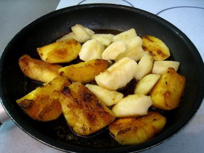 Pommes et poires caramélisées - 6.1