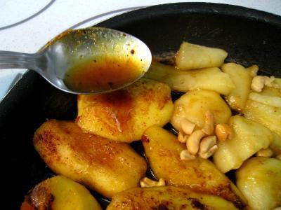 Pommes et poires caramélisées - 6.3