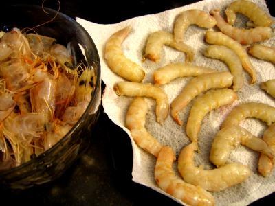 Flans chinois de crevettes à la vapeur - 2.1
