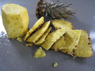 Salade à l'ananas exotique façon Pierrot - 5.1