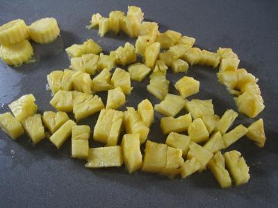 Salade à l'ananas exotique façon Pierrot - 6.1