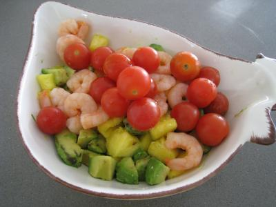 Salade à l'ananas exotique façon Pierrot - 7.1