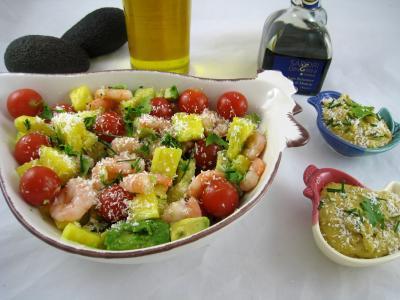 Recette Salade à l'ananas exotique façon Pierrot