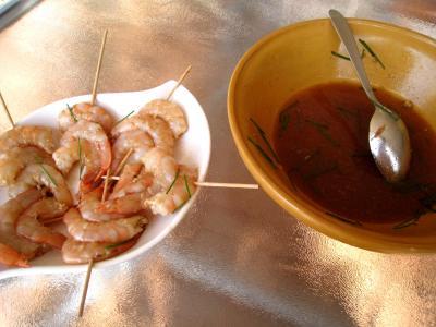 Crevettes façon Pékinoise - 5.2
