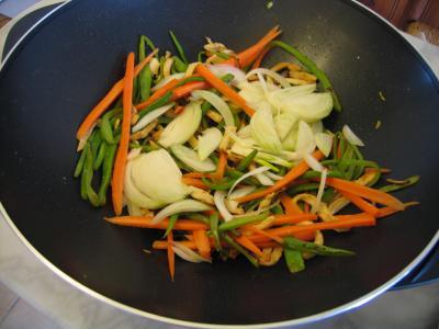 Crêpes chinoises aux légumes - 10.1