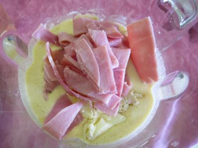 Crêpes au camembert et au jambon - 3.4