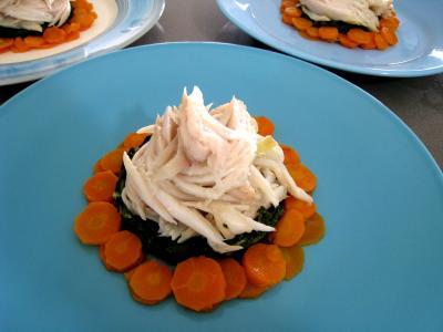 Ailes de raie aux carottes et aux bettes - 15.1