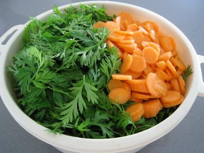 Ailes de raie aux carottes et aux bettes - 6.3