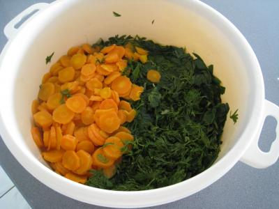 Ailes de raie aux carottes et aux bettes - 9.1