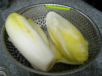 Brochettes de porc aux endives et sa sauce aux noix de cajou - 3.4