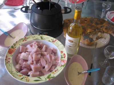 Fondue à l'espadon et sa sauce au citron et au marsala - 7.1