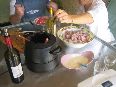 Fondue à l'espadon et sa sauce au citron et au marsala - 8.2