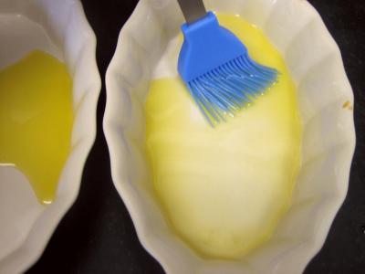 Cassolettes d'oeufs aux restes de purée de brocolis - 5.3