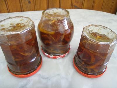 Marmelade de citron à la vanille - 7.2