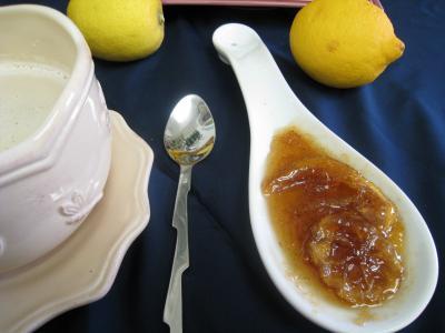 Recette Marmelade de citron à la vanille