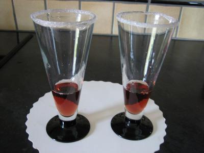 Cocktail au Bourbon et aux cerises - 2.3