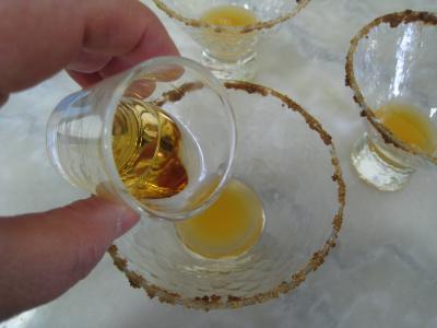 Cocktail au thé, au Bourbon et à la menthe - 5.3