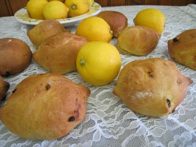Recette Pain au citron aux noix de cajou et raisins secs