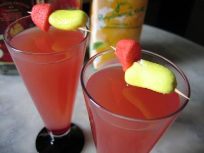 Recette Cocktail de liqueur de litchis
