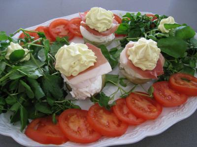 Recette Artichauts et mayonnaise chantilly