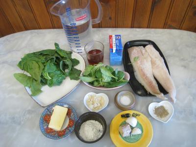 Ingrédients pour la recette : Sauce verte pour poisson