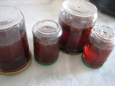 Confit de vin rosé aux raisins secs - 7.1