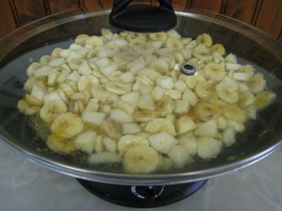 Confiture de bananes et de poires au gingembre - 5.3