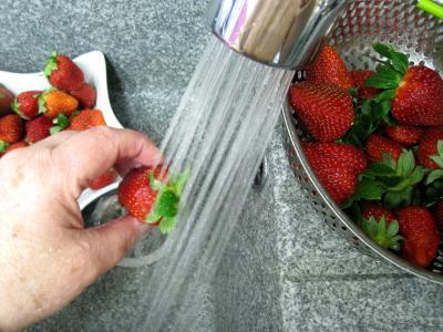 Confiture de fraises à la crème de coco - 1.1