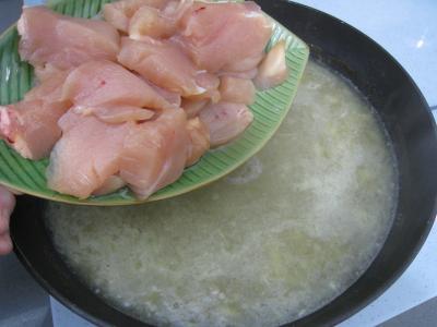 Soupe de poulet au Pécorino à l'italienne - 8.2