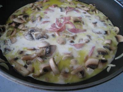Risotto aux champignons et au jambon à l'Italienne - 7.4