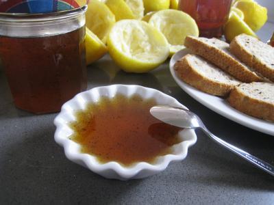 Recette Gelée de citrons à la vanille
