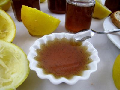 gelée de citron à la vanille