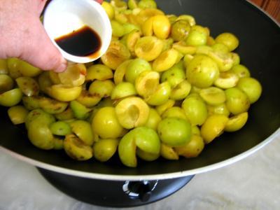 Confiture de mirabelles au Martini - 1.4