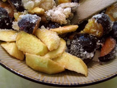 Confiture de prunes et de pommes à la crème - 5.1