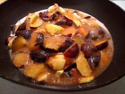 Confiture de prunes et de pommes à la crème - 6.1