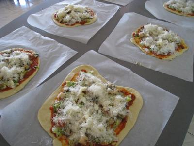 Pizza marinara aux moules à l'italienne - 18.2